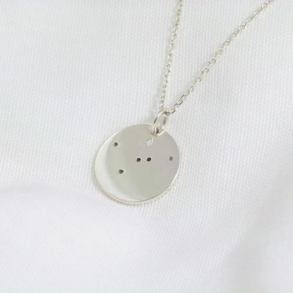 Médaille constellation Argent revers
