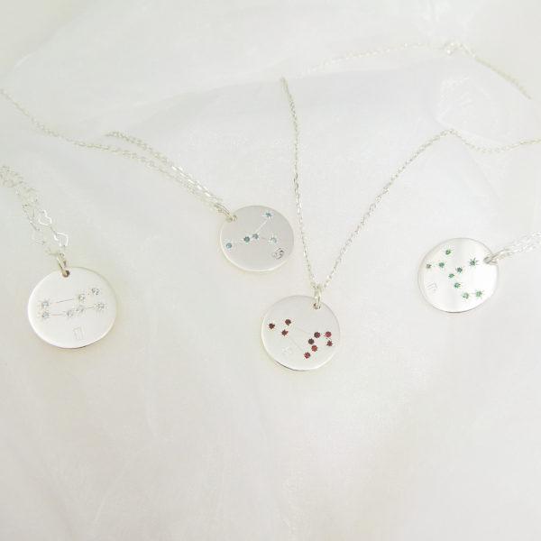 Médailles constellations Argent groupe