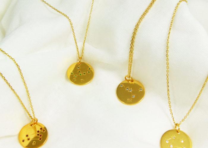 Médailles constellations Vermeil groupe