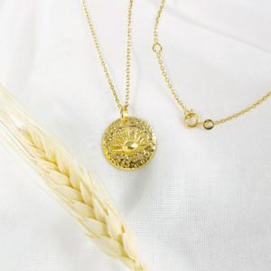 Médaille Soleil Vermeil
